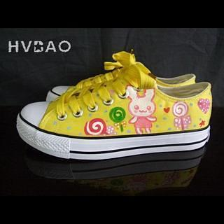 Rabbits & Lollipops Canvas Sneakers