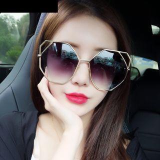 Polygon Shape Sunglasses