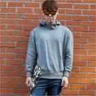 Hooded Long-sleeve Top