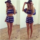 Set: Cropped Top + Shorts