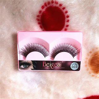 False Eyelashes #003 As Shown In Figure - One Size