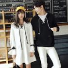 Couple Plain Hooded Pullover / Hooded Pullover Dress