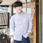 Pocket-front Linen Blend Shirt