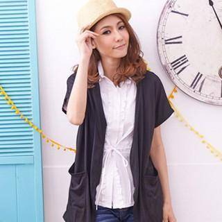Short-sleeve Zip Light Jacket