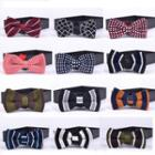 Knit Bow Tie (various Designs)