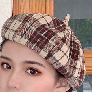 Lattice Beret Hat