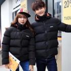 Matching Couple Hooded Padded Jacket