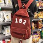 Numbering Canvas Backpack