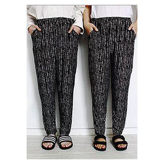 Couple Patterned Cool Pants