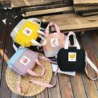 Color Block Square Crossbody Bag