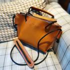 Genuine Leather Mini Shoulder Bag