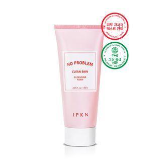 Ipkn - No Problem Clean Skin Cleansing Foam 120ml 120ml