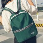 Message Printed Backpack