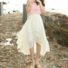 Layered Asymmetric A-line Skirt