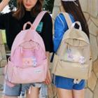 Mesh Front Pocket Backpack