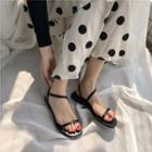 Singback Flat Sandals