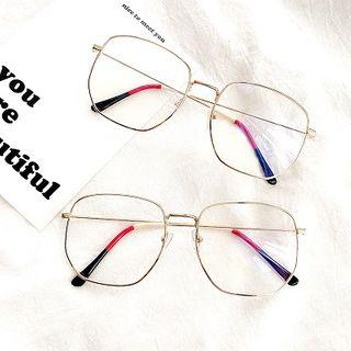 Thin Wire Glasses As Shown In Figure - One Size