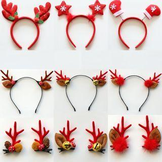 Christmas Headband / Hair Clip (various Designs)