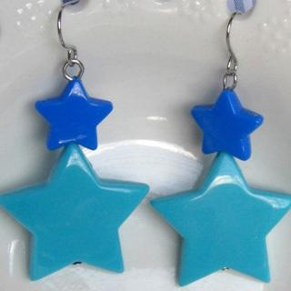 Sweetie Double Stars Earrings