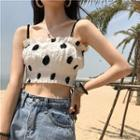 Polka Dot Cropped Top