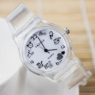 Transparent Strap Watch