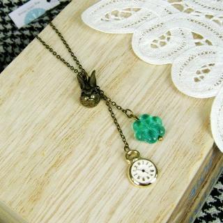 Copper Little Bunny Necklace