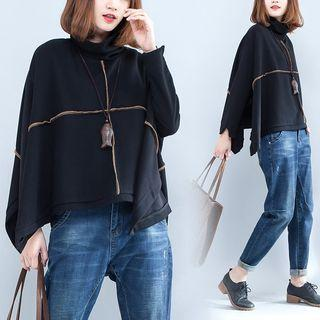 Long-sleeve Stitching Top