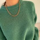 Bold Chain Necklace Gold - One Size