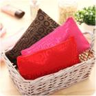 Lettering Cosmetic Bag
