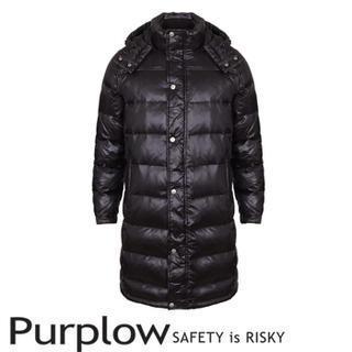 Hooded Padded Long Coat