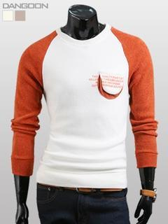 Raglan-sleeve Knit Top