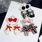 Bow & Heart Bear / Panda Dangle Earring (various Designs)