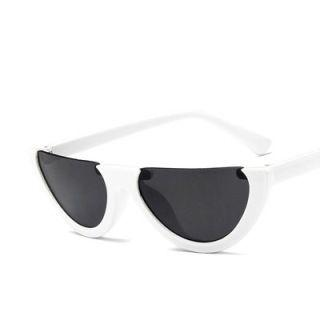 Chunky Half Frame Sunglasses