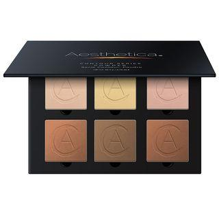 Aesthetica Cosmetics - Square Pressed Powder Contour Kit As Figure Shown