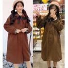 Bow Long-sleeve Coat