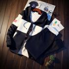 Set: Hooded Zip-up Jacket + Sweatpants