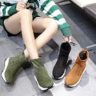 Elastic Short Boots