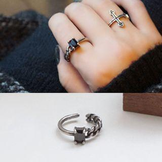 Chain Ring Silver - One Size
