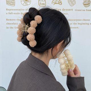 Fleece Ball Hair Clamp