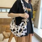 Pattern Shoulder Bag Black & White - One Size