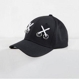 Cross Strap Hoop Baseball Hat