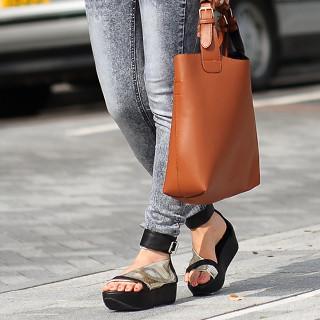 Ankle-strap Platform Sandals