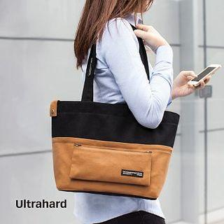 Color-block Tote Bag