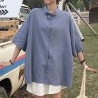 Elbow-sleeve Shirt / Shorts