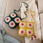 Crochet Knit Crossbody Bag