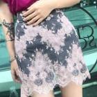 Lace Midi Skirt / Mini Skirt
