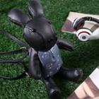 Faux Leather Rabbit Backpack