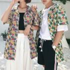 Couple Matching Floral Shirt