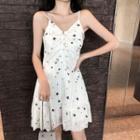 Stary Strappy A-line Dress