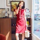 Sailor Collar Sleeveless Dress